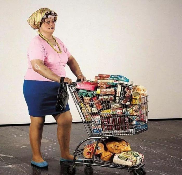 超市里的采购者